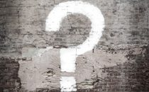 A large question mark that represents the idea of frequently asked questions in trauma counseling in Katy, TX 77494